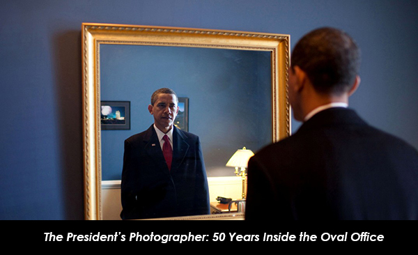 "IMAGES ARE FOR YOUR ONE-TIME EXCLUSIVE USE ONLY AS A TIE-IN WITH THE NATIONAL GEOGRAPHIC BOOK ""THE PRESIDENT'S PHOTOGRAPHER."" NO SALES, NO TRANSFERS. President-elect Barack Obama just prior to taking the oath of office. ÒBackstage at the U.S. Capitol, he took one last look at his appearance in the mirror,Ó Pete Souza said, then walked into history. (Pete Souza, The White House, p. 18)"
